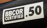 BBCOR certified mark